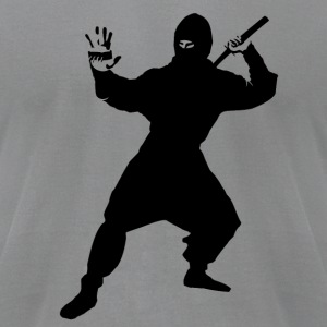 NINJA ASSASSIN T - Men's T-Shirt by American Apparel