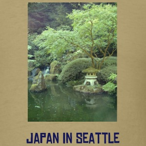Khaki Japan in Seattle T-Shirts - Men's T-Shirt