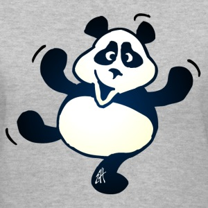 Panda - Women's V-Neck T-Shirt