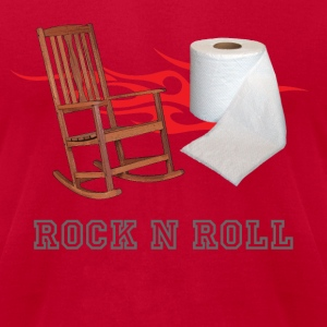 ROCK N ROLL T - Men's T-Shirt by American Apparel