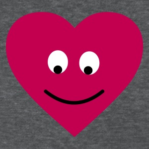 Deep heather heart head Women's T-shirts - Women's T-Shirt