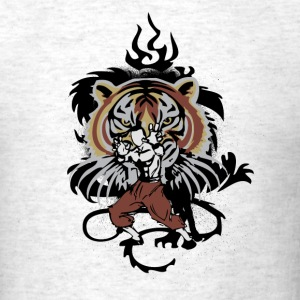 Ash  tiger_style T-Shirts - Men's T-Shirt