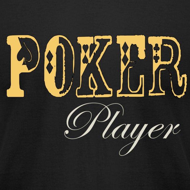Poker Player T Mens Black