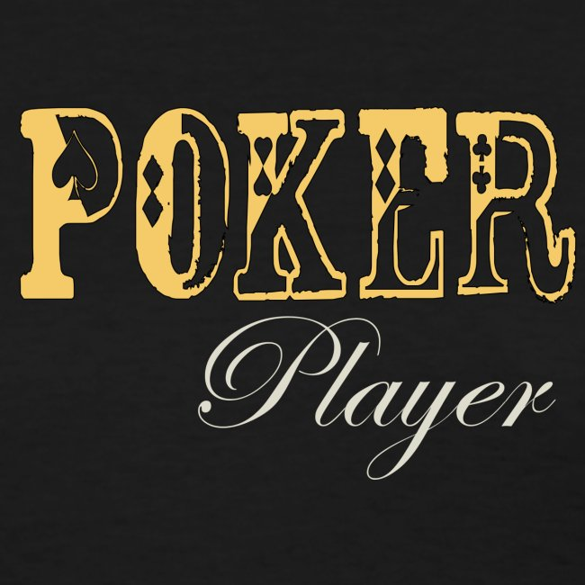 Poker Player  T Womens Black