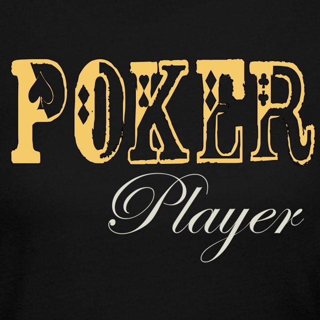 Poker Player  Womens Long Sleeve T Black