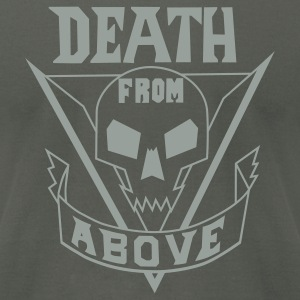 Asphalt deathfromabove T-Shirts - Men's T-Shirt by American Apparel