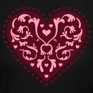 Light pink Heart Design Long sleeve shirts - Women's Long Sleeve Jersey T-Shirt