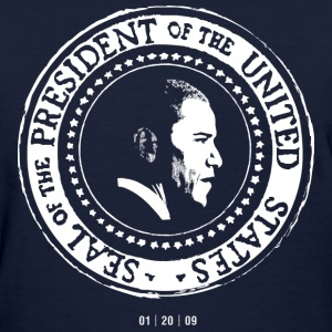 Obama Presidential Seal T-shirt by N. Hall - Women's T-Shirt