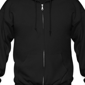 Black Heart On Fire Zippered Jackets - Men's Zip Hoodie