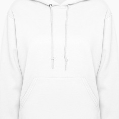 White Heart On Fire Hooded Sweatshirts