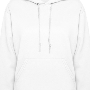 White Heart On Fire Hooded Sweatshirts - Women's Hoodie