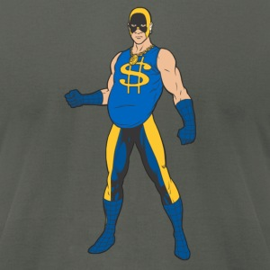Mr Super Bling T - Men's T-Shirt by American Apparel