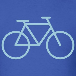 Royal blue Bicycle T-Shirts - Men's T-Shirt