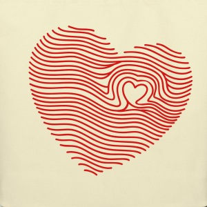 Creme Touched My Heart Bags  - Eco-Friendly Cotton Tote