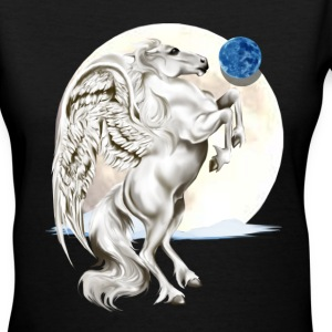 Rearing Pegasus - Women's V-Neck T-Shirt