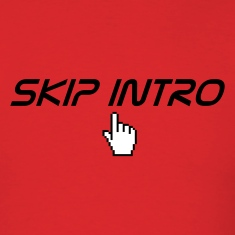 Red skip intro T-Shirts