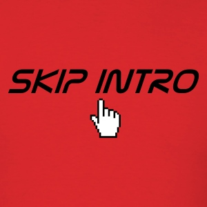 Red skip intro T-Shirts - Men's T-Shirt