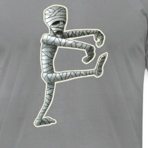 Slate mummy T-Shirts - Men's T-Shirt by American Apparel