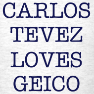 Design ~ Carlos Tevez Loves Geico