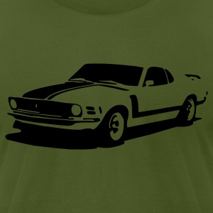 Olive mustang #1 T-Shirts - Men's T-Shirt by American Apparel
