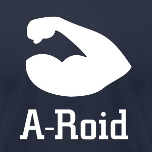 A-Roid - Men's T-Shirt by American Apparel