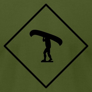 Olive Portage sign T-Shirts - Men's T-Shirt by American Apparel