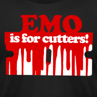 Design ~ Emo is for Cutters t-shirt