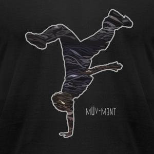 Muv-ment T-Shirts - Men's T-Shirt by American Apparel