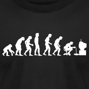 Gamers Evolution - Men's T-Shirt by American Apparel