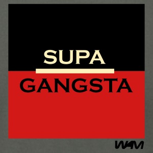 Asphalt supa gangsta by wam T-Shirts - Men's T-Shirt by American Apparel