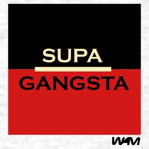 Ash  supa gangsta by wam T-Shirts - Men's T-Shirt