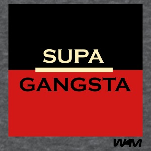 Deep heather supa gangsta by wam Women's T-shirts - Women's T-Shirt