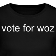 Design ~ Ladies Vote for Woz Long Sleeve T-Shirt
