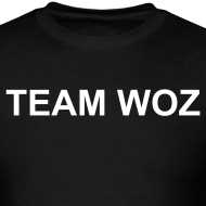 Design ~ Mens Short Sleeve TEAM WOZ T-Shirt