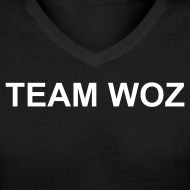 Design ~ Ladies TEAM WOZ V-Neck T-Shirt