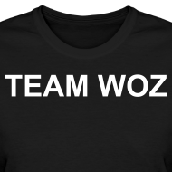 Design ~ Ladies TEAM WOZ T-Shirt