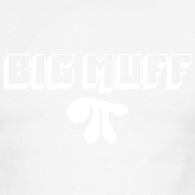 Big Muff Pi: White on Red