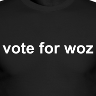 Design ~ Mens 'vote for woz' Long Sleeve T-Shirt