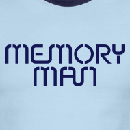Design ~ Memory Man: Navy on Sky Blue
