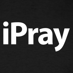 iPray White over Black