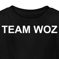 Design ~ Kids Short Sleeve TEAM WOZ T-Shirt