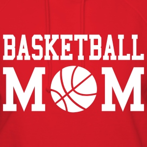 Basketball Mom Hooded Sweatshirt - Women's Hoodie