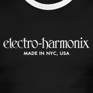Design ~ Electro-Harmonix: White on Black