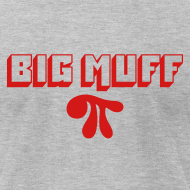 Design ~ Big Muff Pi: Red on Heather Grey