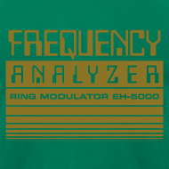 Design ~ Frequency Analyzer: Metallic Gold on Lemon