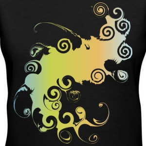 Women's V-Neck Tee Twirl - Women's V-Neck T-Shirt