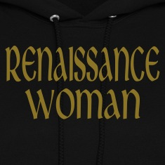 Black Renaissance Woman Hooded Sweatshirts