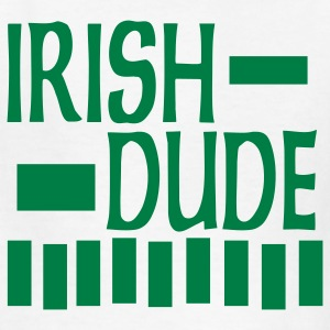 White Irish Dude, 3 Color Design Kids Shirts - Kids' T-Shirt