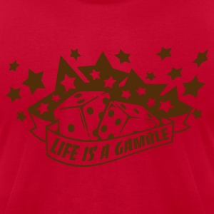 Lemon life is a gamble T-Shirts - Men's T-Shirt by American Apparel