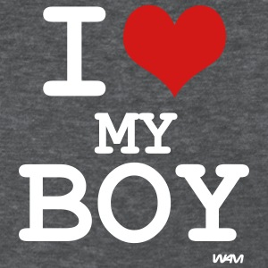 Deep heather i love my boy by wam Women's T-shirts - Women's T-Shirt